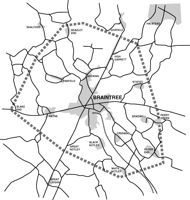 braintree map
